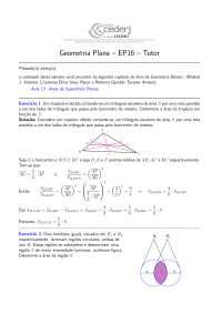 Geometria Plana EP16-GP-2012-2-Gabarito