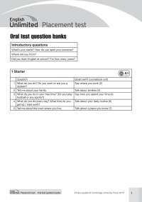 EnglishUnlimited_All_Test_OralTest