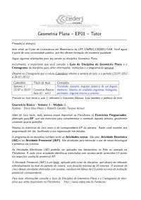 Geometria Básica EP01-GP-2012-2-Gabarito