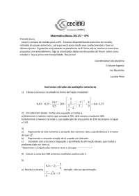 Matemática Básica EP08
