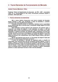 a Teoria Elementar do Funcionamento do Mercado_Parte1
