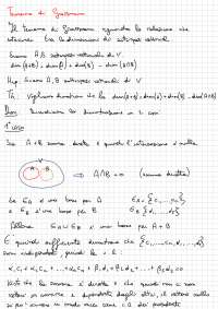 Teorema di Grassmann