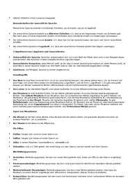 LINGUA TEDESCA II morfologia