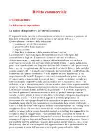 Diritto commerciale riassunto appunti di diritto commerciale