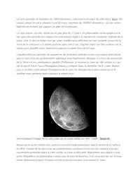 Notes sur le système solaire interne: la Lune