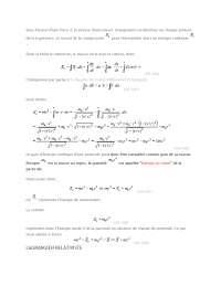Notes sur la variation relativiste de la masse - 2° partie