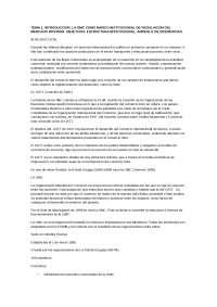 La OMC. Derecho del comercio internacional