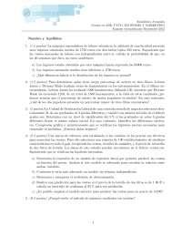 examen estadistica avanzada (septiembre 2013) (opcion B)