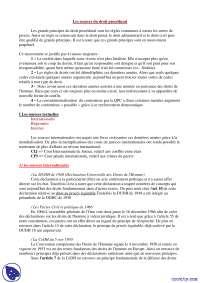 Notes sur les sources du droit procédural