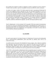 Notes sur l'introduction au droit administratif - 2° partie