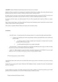 Résumé sur les procédures suivies devant les juridictions de première instance - 2° partie