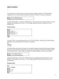 Apuntes sobre los procedimientos Write y WriteLn
