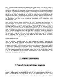 Résumé sur l'introduction au droit privé - 1° partie