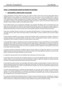 Resumen de Derecho Comunitario en PDF. Grado 2013/2014 Programa del profesor Eloy.