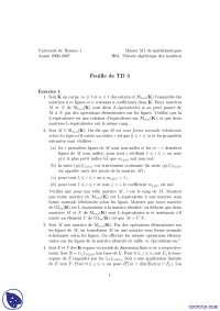Exercices de mathématiques sur la théorie algébrique des nombres
