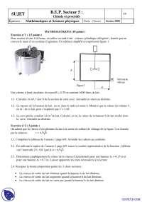 Exercice de chimie et procédés