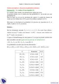 Exercices récapitulatifs de mathématiques