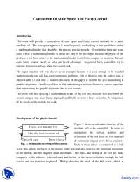 Fuzzy vs Classical Control - Embedded Intelligent Robotics - Lecture Notes