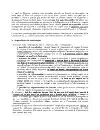 Notes sur le droit institutionnel de l'union européenne - 2° partie