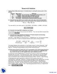 Atomic Mass - Alternative Energy Engineering - Solved Homework