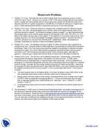 Energy Flows - Alternative Energy Engineering - Homework