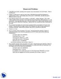 Efficiency - Alternative Energy Engineering - Homework