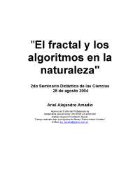 Naturaleza Fractal