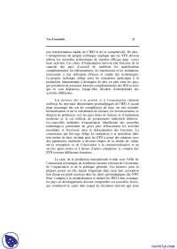 Notes sur le rapport sur l'investissement dans le monde - 2° partie