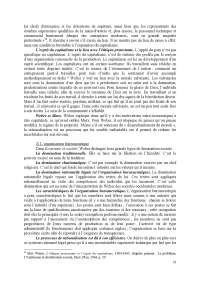 Notes de sociologie des organisations - 2° partie