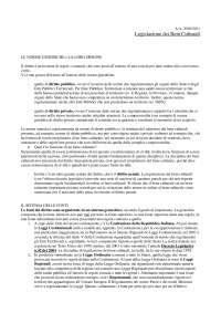 Legislazione Beni Culturali