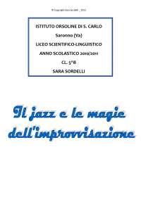 Tesina di maturità sul Jazz