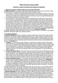 Dispensa--Bilancio-E-Principi-Contabili - Bilancio-d'esercizio-e-principi-contabili