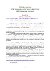 Resumen del libro de Derecho Internacional privado, ROZAS