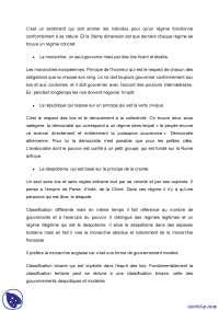 Sciences politiques - notes complètes - 3° partie