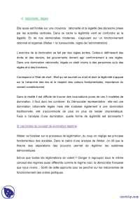 Sciences politiques - notes complètes - 2° partie