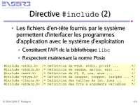 Notes sur la programmation impérative - 4° partie