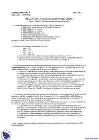 Exercices de micro-informatique - examen 8