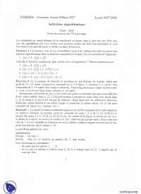 Exercices sur l'initiation algorithmique - 2