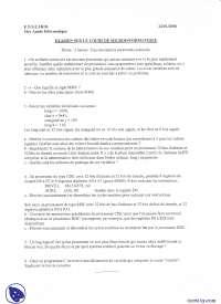 Exercices de micro-informatique - examen 4, Examens de Informatique