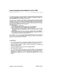Exercices sur l'interaction homme-machine, Exercices de Application informatique