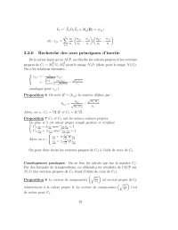 Notes sur le thème de l'analyse des données - 3° partie