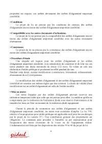 Notes sur la présentation du droit de l'urbanisme au Maroc - 3° partie