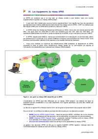 Notes sur le réseau GSM et le mobile - 2° partie