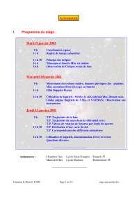 Notes sur les principes d'astronomie - 1° partie