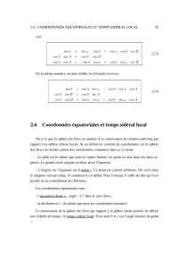Notes sur les éléments d'astronomie fondamentale - 2° partie