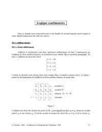 Notes sur la logique combinatoire - 1° partie, Notes de Principes fondamentaux de physique