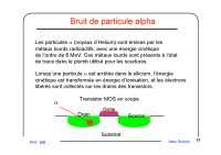 Notes sur la modélisation et le contrôle du bruit dans les circuits intégrés numériques - 2° partie