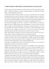 Tesina giornalismo-L'agenda (setting) nera degli Italiani.