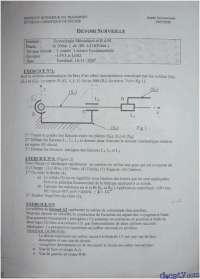 Exercices sur la technologie mécanique, Exercices de Mathématiques Appliquées