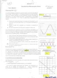 Exercices sur les oscillations mécaniques libres